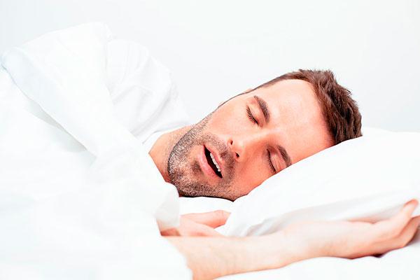 Слюноотделение во время сна у взрослых