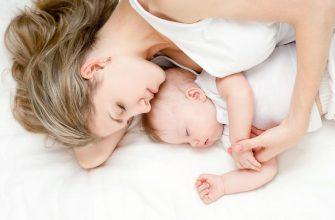 Сон с малышом - фото