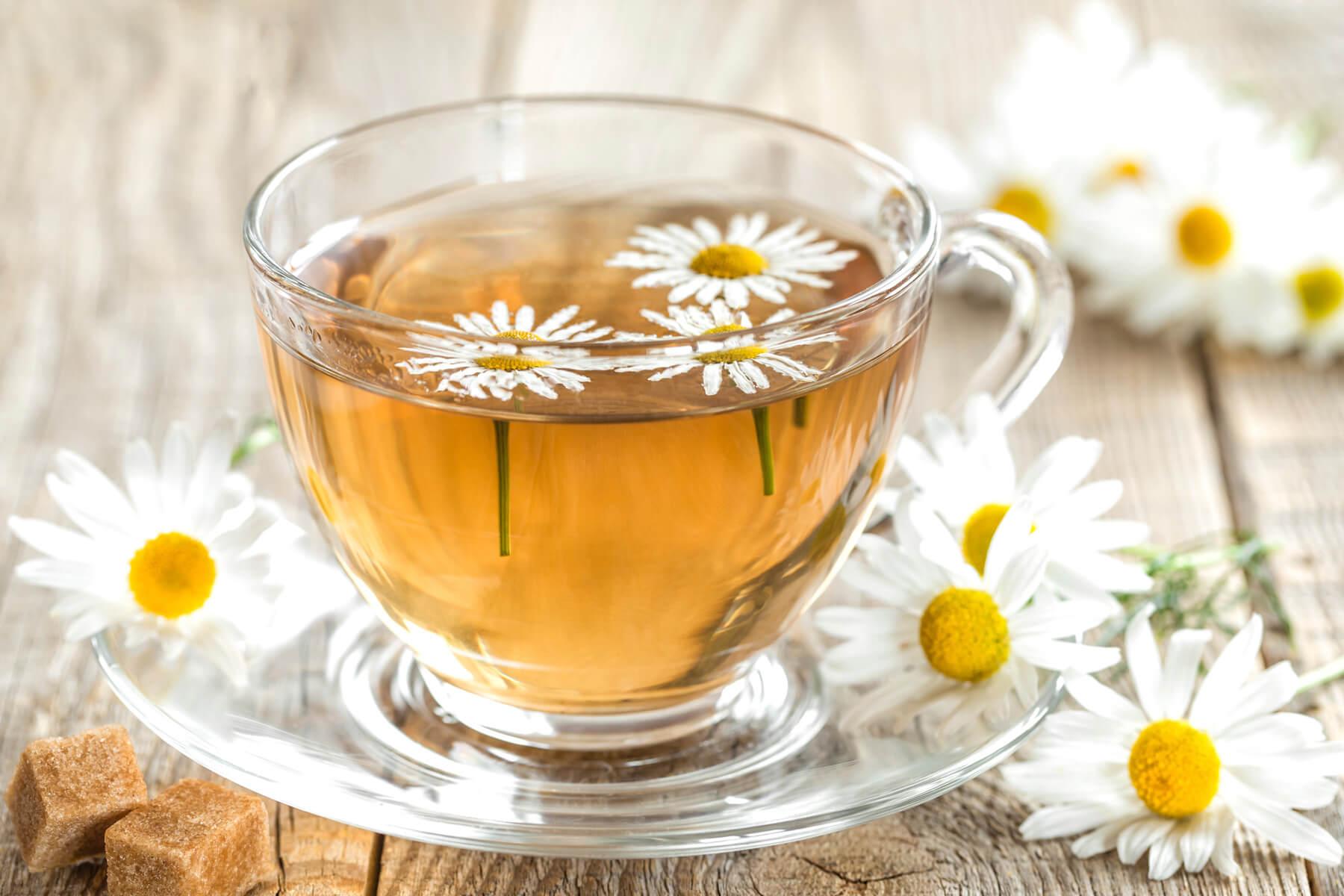Ромашковый чай - фото