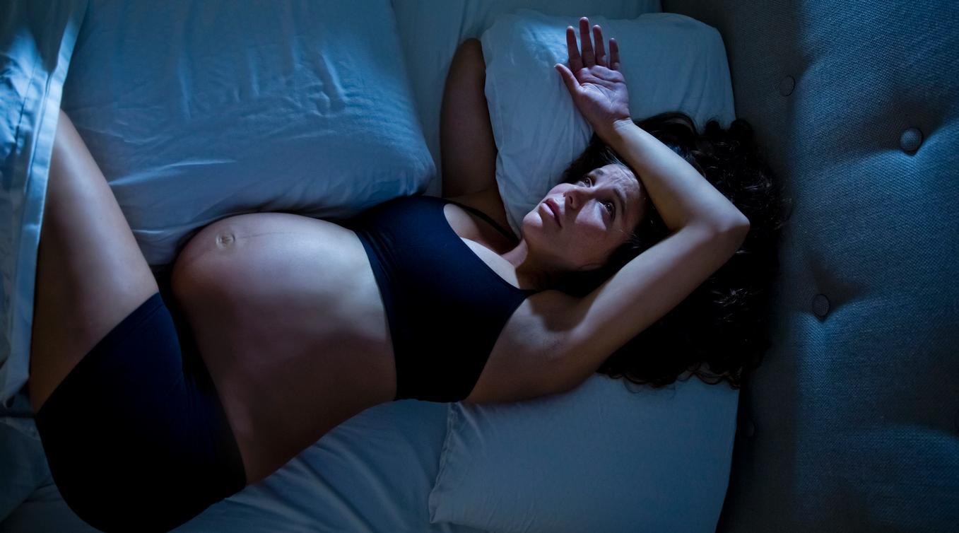 Бессонница во время беременности - фото