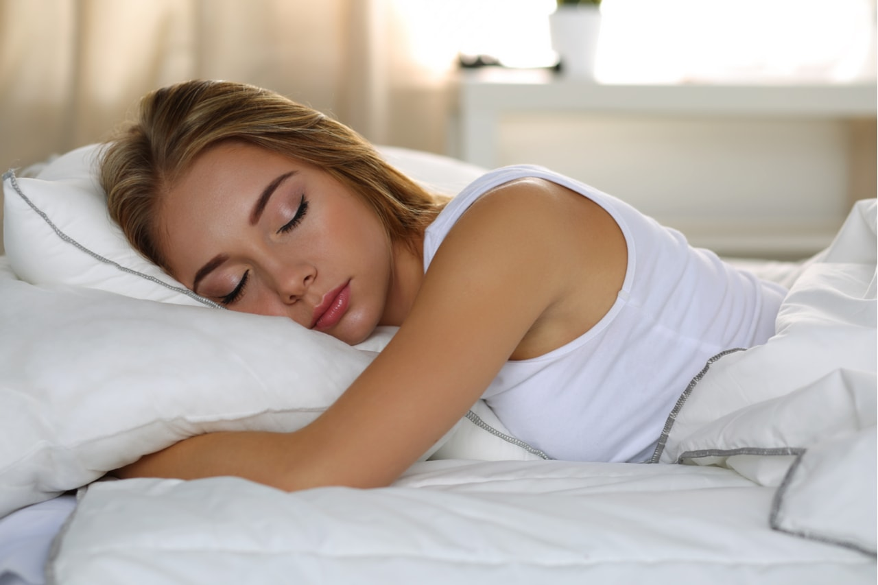 Удобная поза для сна - фото